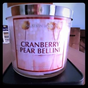Cranberry Pear Bellini Candle